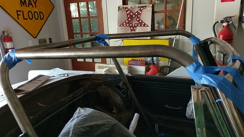 Tiger Roll Cage Taking Shape