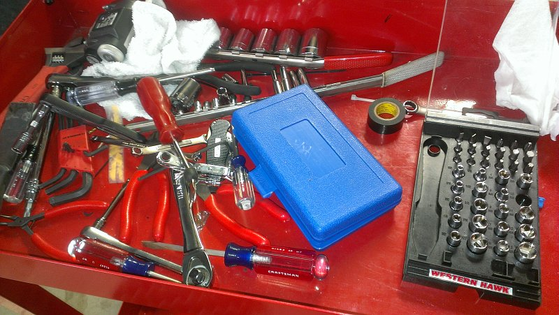 Tool Cart Ready To Work