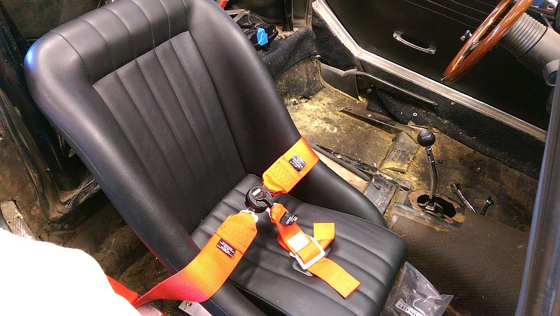 Cobra Seat Sub-Belt Installation