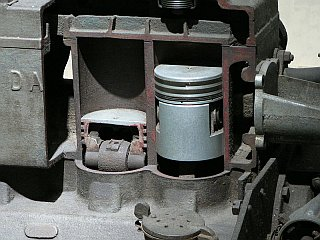 Old Engine Cutaway