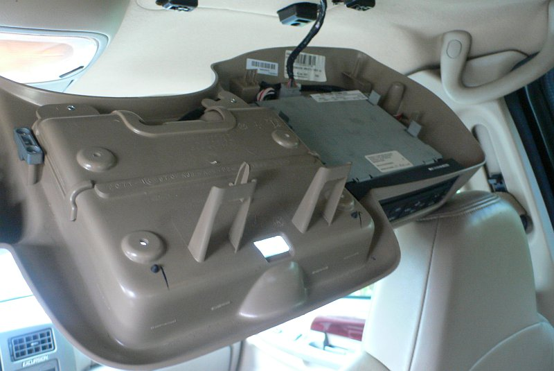 Ford Excursion Console Removed