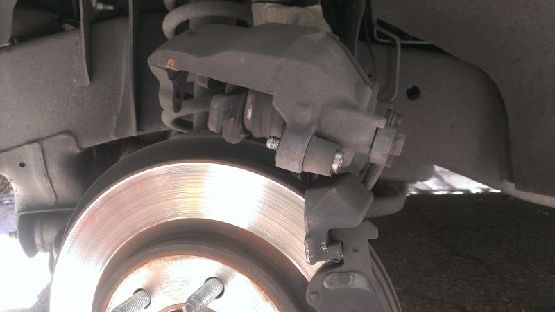 Caliper Removed