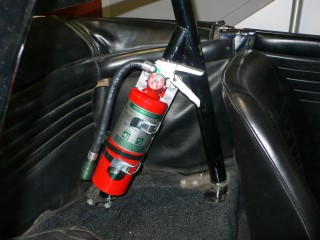 Roll Bar Mount Fire Extinguisher Gtsparkplugs