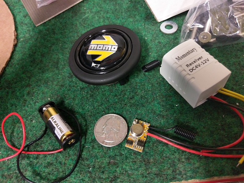Momo Wireless Horn Button Project