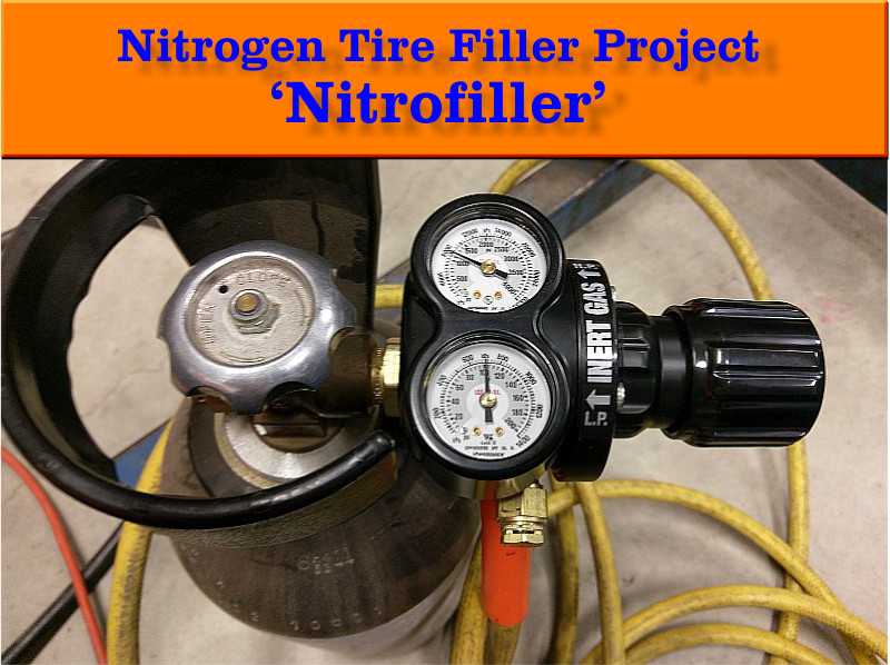 DIY Nitrogen Tire Filler