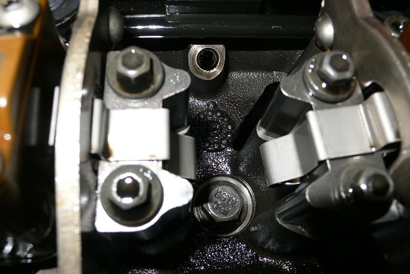 Powerstroke Oil Drain Head
