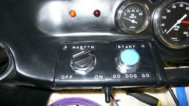 Race Car Replica's RCR40 Master and Starter Switches