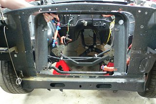 Fastback Mustang - Cutting Radiator Support