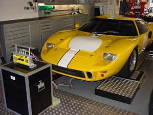 GT40 On Scales