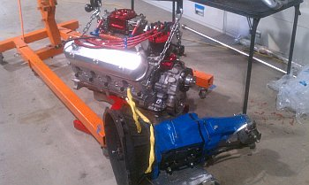 Mustang Engine and T101A Transmission