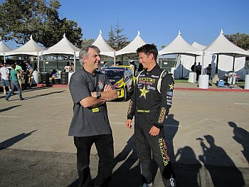 Tanner Foust and Sandy Ganz X-Games