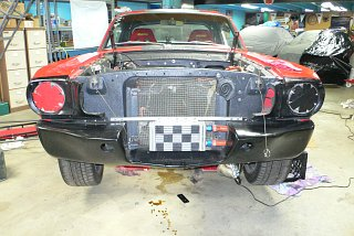 Fastback Mustang - Oil Cooler Re-install