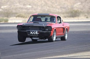 1965 Fastback Pulling a Tire