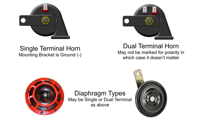Automotive Car Horn Wiring