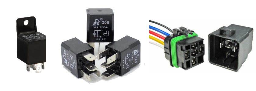 common automotive relays