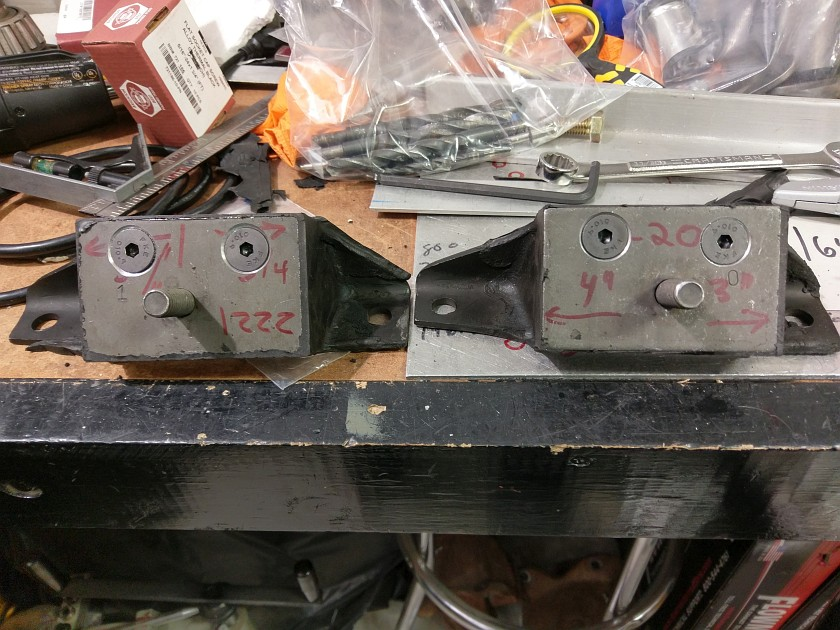 Completed Motor Mounts - Front