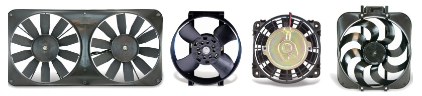 Typical Automotive Electric Cooling Fans