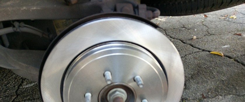 Ford Expedition Rear Brake Job