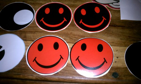 Happy Faces Headlight Covers