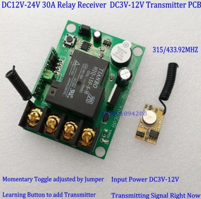 High Current Wireless Receiver