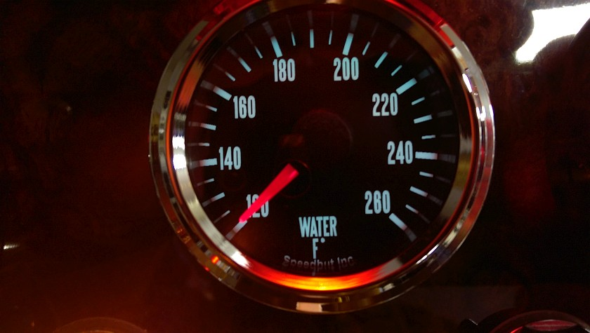 Speedhut Legacy Water Temp Gauge