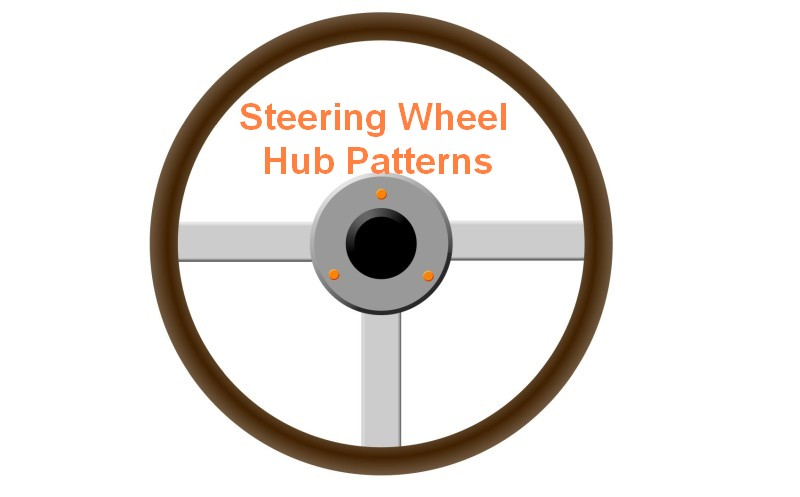 Steering Wheel Hub Patterns, Nardi, Momo