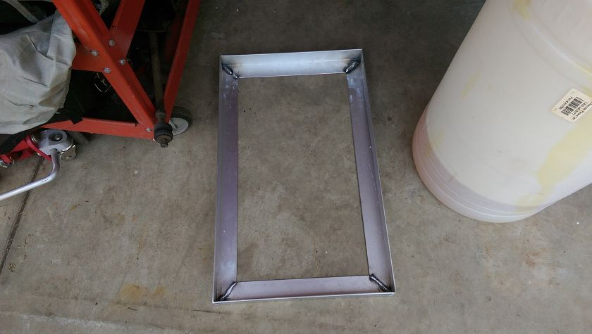 Welded Fuel Cell Bottom Tray
