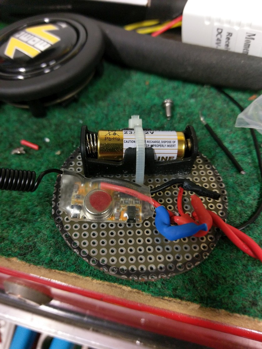 Mounting the Remote Transmitter